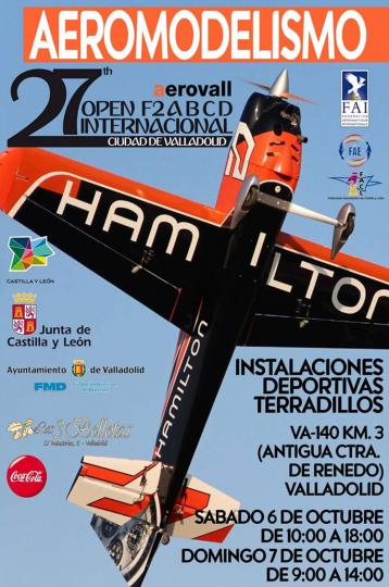27th Open International Valladolid F2A, F2B, F2C, F2D